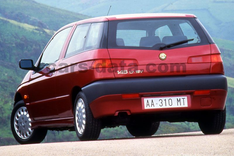 alfa romeo 145 1994 pictures alfa romeo 145 1994 images 4 of 11. Black Bedroom Furniture Sets. Home Design Ideas
