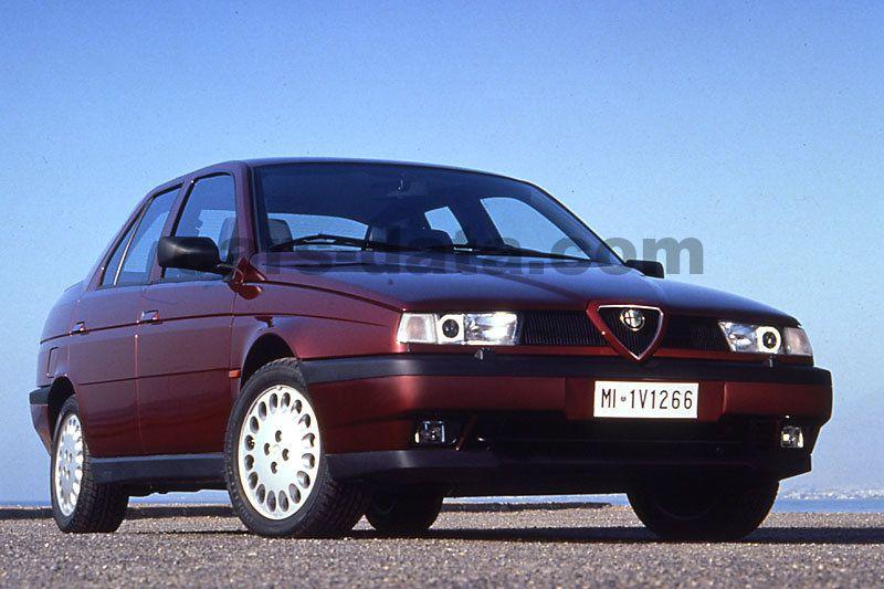 alfa romeo 155 2 0 16v turbo q4 manual 4 door specs cars data com