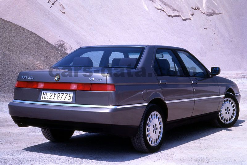 Alfa Romeo 164 >> Alfa Romeo 164 1993 Pictures 2 Of 9 Cars Data Com
