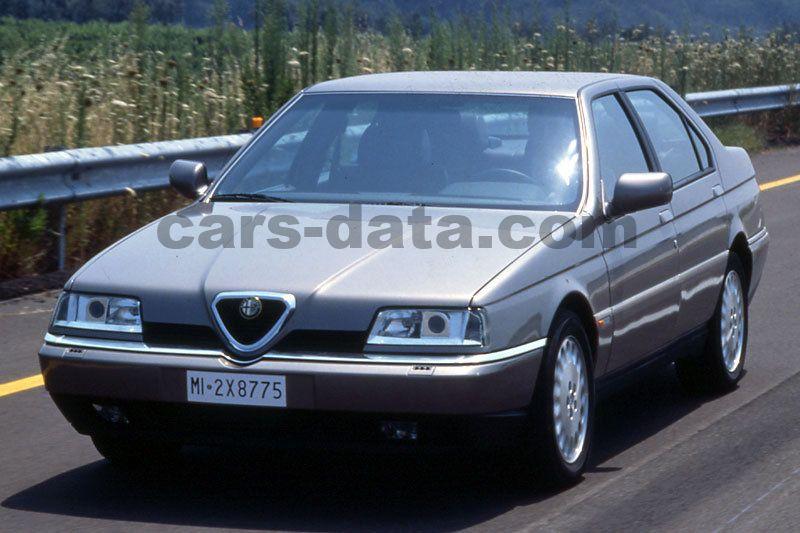 Alfa Romeo 164 1993 Pictures  Alfa Romeo 164 1993 Images