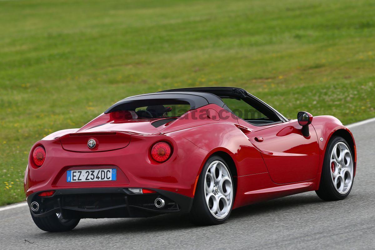 Alfa Romeo 4c Spider 2015 Pictures 4 Of 65
