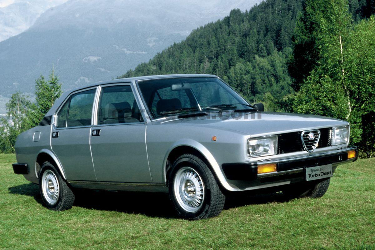 Alfa Romeo Alfetta 2 0 L Manual 4 Doors Specs Cars Data Com