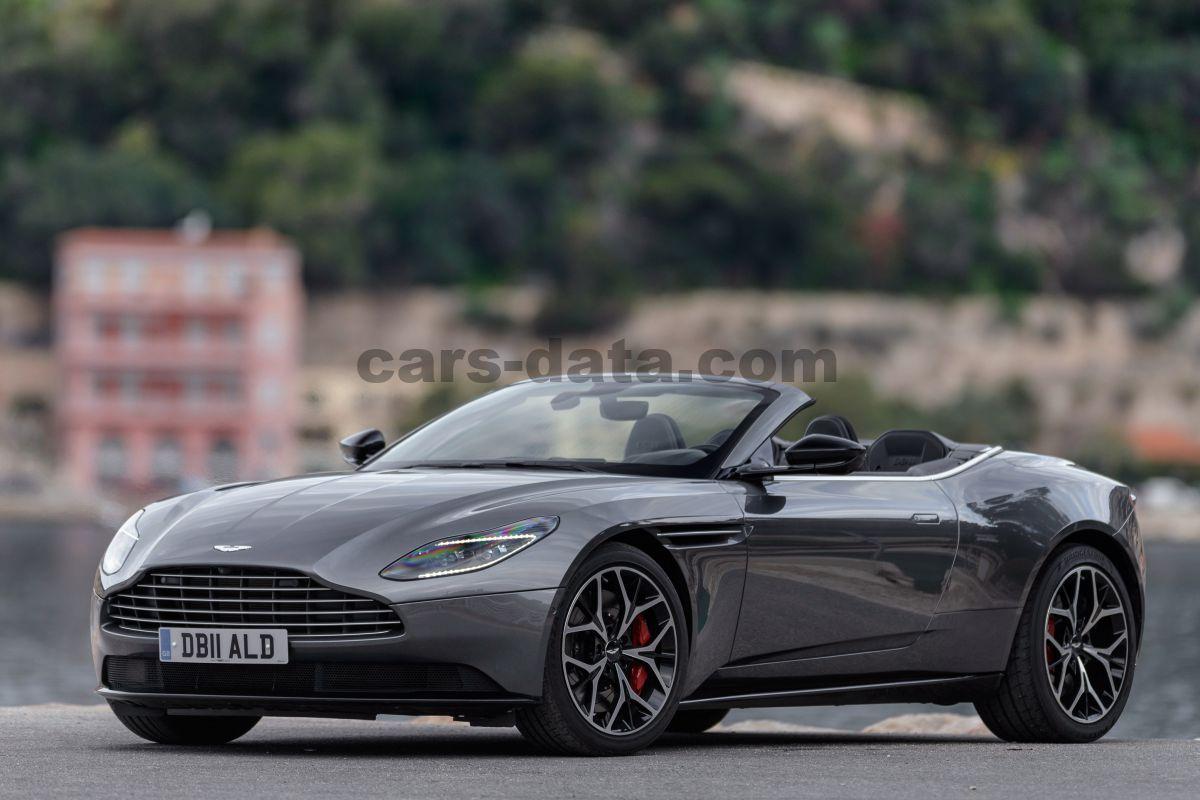 Aston Martin Db11 Volante Images 19 Of 34 Cars Data Com