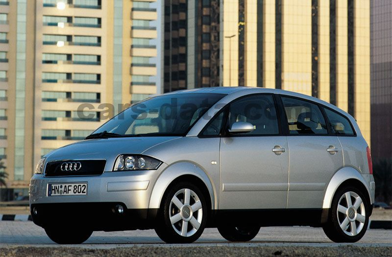 audi a2 1 2 tdi 3l automatic 2001 2005 61 hp 5 doors technical specifications. Black Bedroom Furniture Sets. Home Design Ideas
