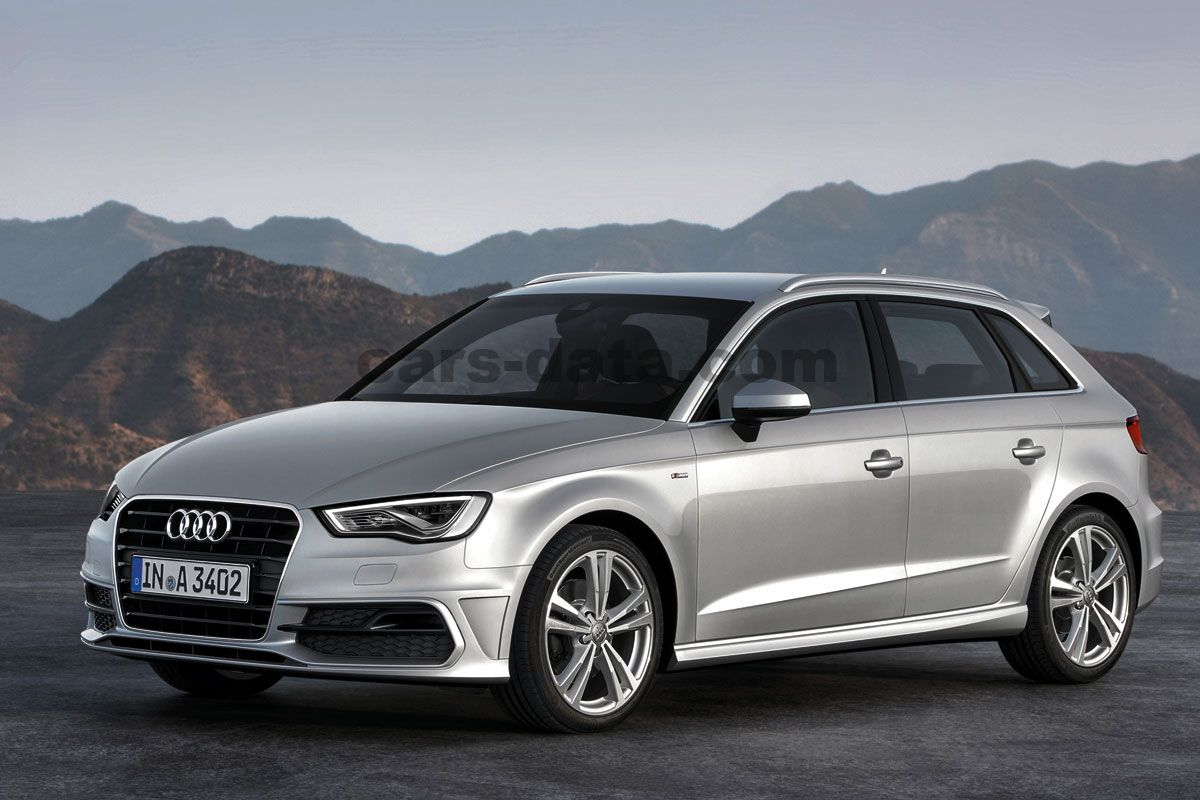 audi a3 sportback 2013 bilder audi a3 sportback 2013. Black Bedroom Furniture Sets. Home Design Ideas