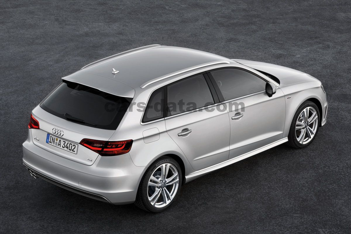 audi a3 sportback 2013 bilder audi a3 sportback 2013 bildern 26 von 28. Black Bedroom Furniture Sets. Home Design Ideas