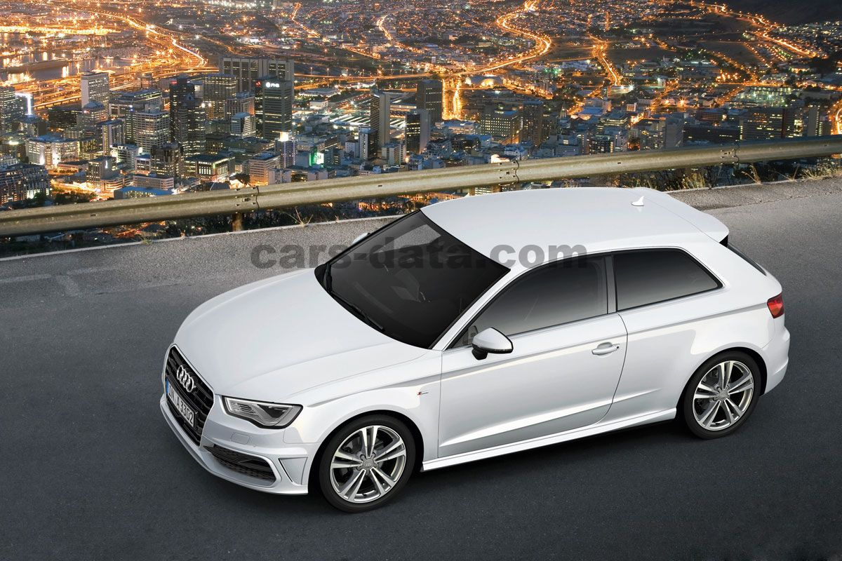 audi a3 2012 slike fotografije audi a3 2012 slike 6 od 33. Black Bedroom Furniture Sets. Home Design Ideas