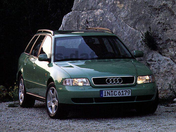 Audi a4 avant 1996 pictures audi a4 avant 1996 images 4 for Mercedes benz b5 service