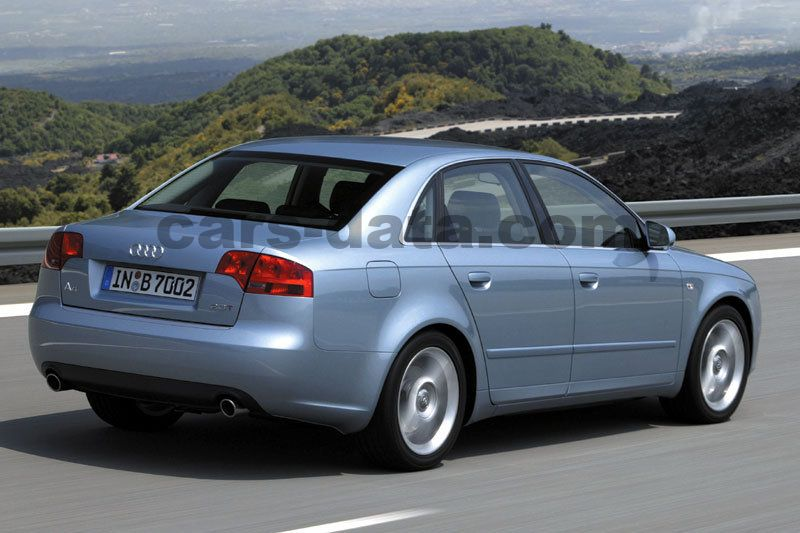 Audi A Pictures Of Carsdatacom - Audi a4 2004