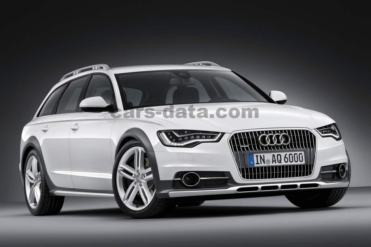 audi a6 allroad 3 0 tfsi quattro sequential automatic 2012 2014 300 hp 5 doors technical. Black Bedroom Furniture Sets. Home Design Ideas
