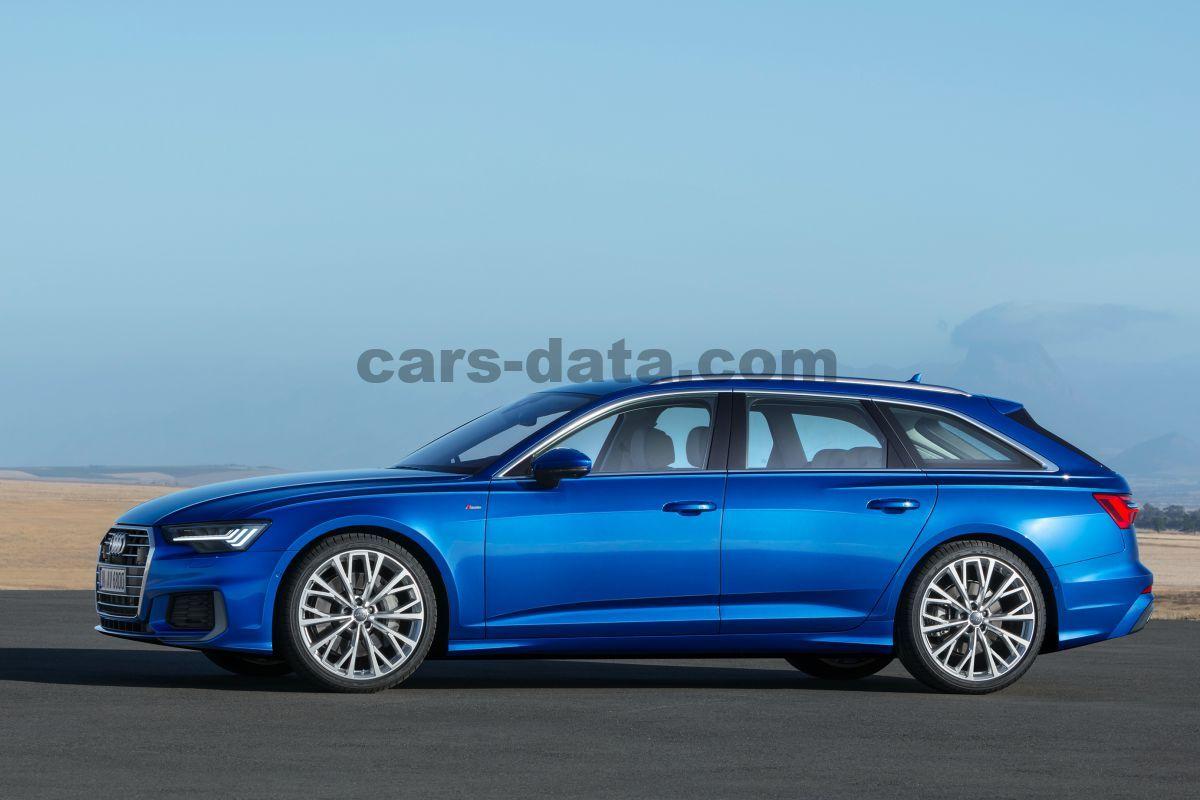 Audi A6 Avant 2018 >> Audi A6 Avant 2018 Pictures 24 Of 45 Cars Data Com