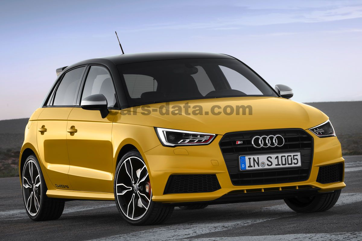 audi s1 sportback 2 0 tfsi quattro manual 2015 present 231 hp 5 doors technical specifications. Black Bedroom Furniture Sets. Home Design Ideas
