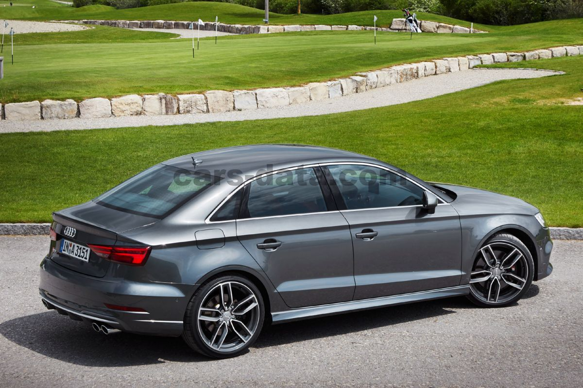 Audi S3 Limousine 2016 pictures (6 of 35) | cars-data.com
