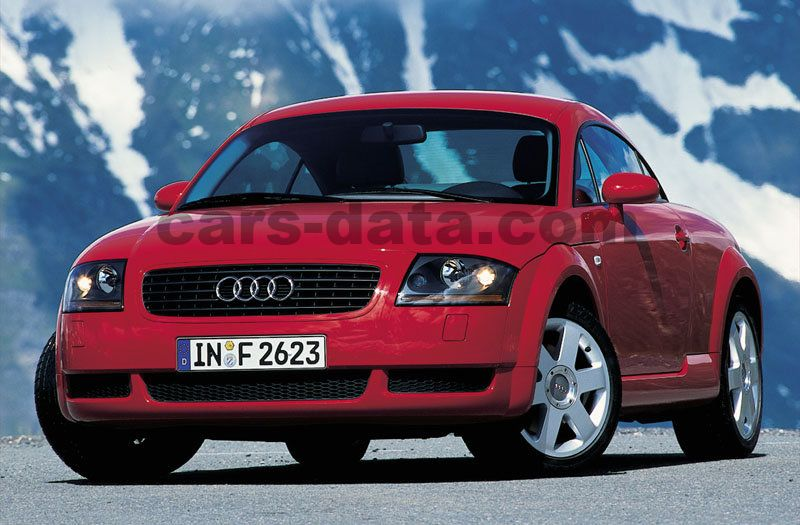 Japanese Car Brands >> Audi TT Coupe 1.8 5V Turbo Quattro 225hp manual 2 door specs | cars-data.com