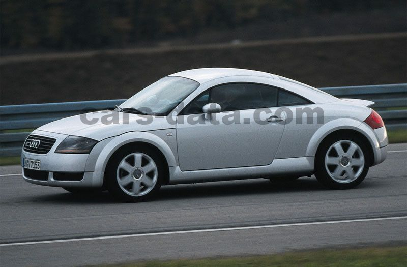 audi tt coupe 1998 pictures 5 of 8 cars. Black Bedroom Furniture Sets. Home Design Ideas