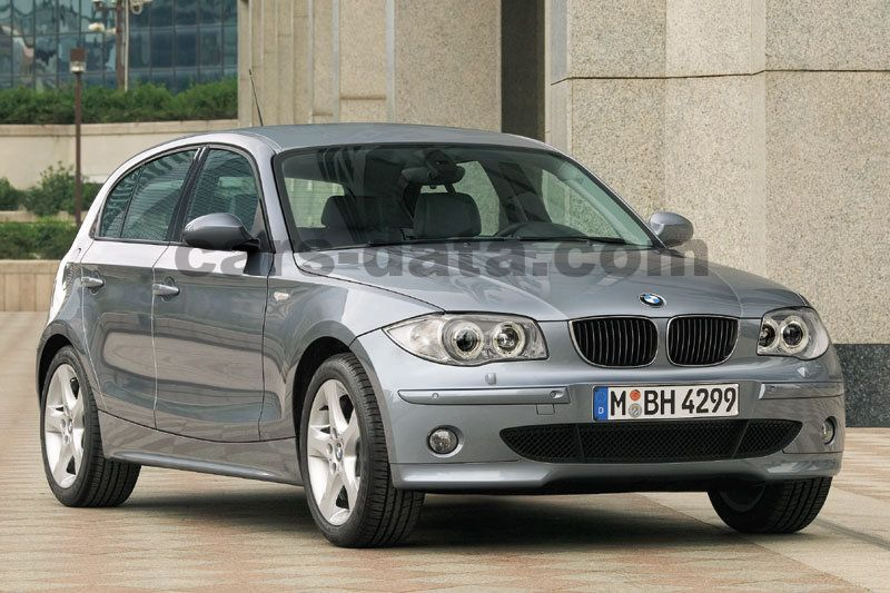 bmw 118d manual 2004 2007 122 hp 5 doors technical specifications. Black Bedroom Furniture Sets. Home Design Ideas