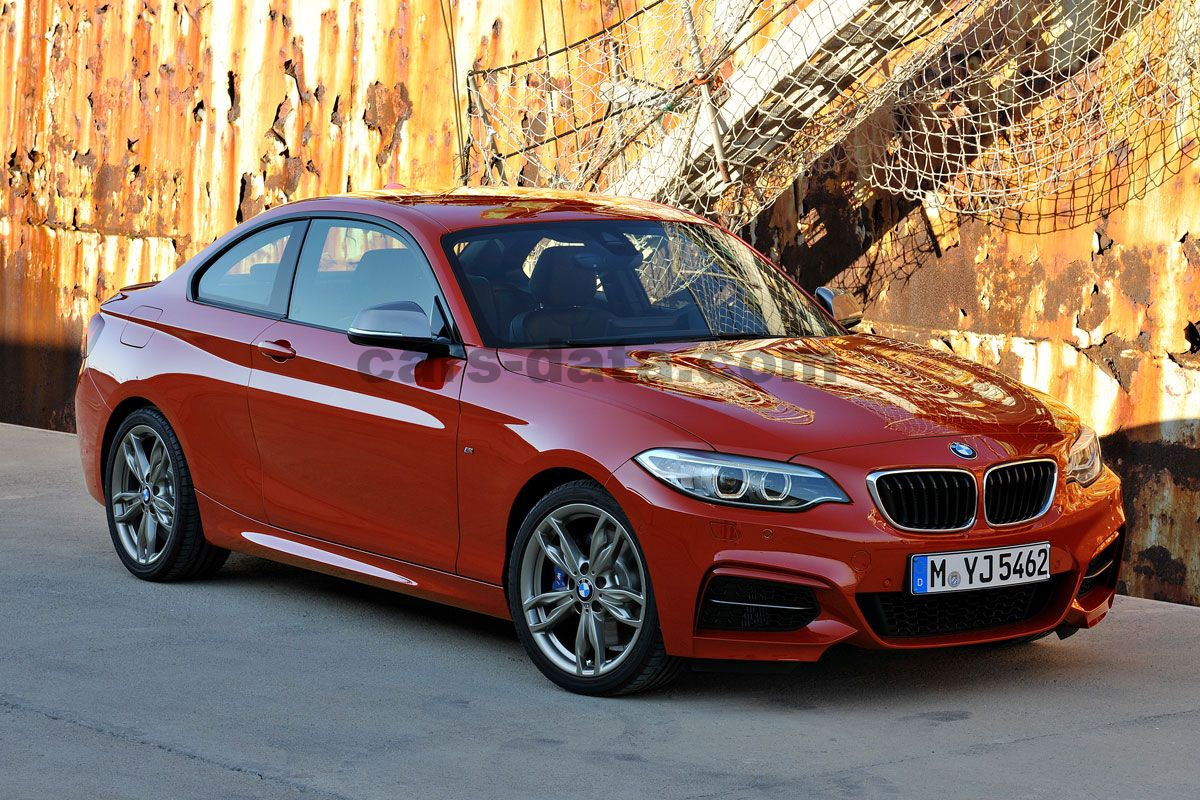 BMW I Coupe Manual Present Hp Doors Technical - Bmw 220i