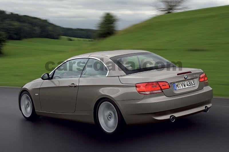 Verwonderlijk BMW 3-serie Cabrio 2007 pictures (13 of 17) | cars-data.com NB-84