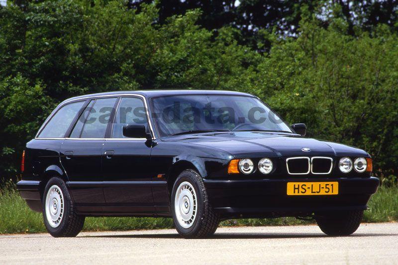 Bmw 525tds Touring Manual 1992 1997 143 Hp 5 Doors