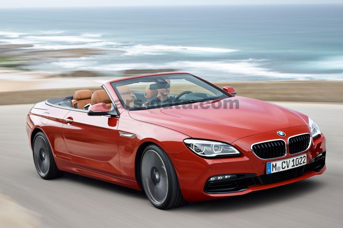 BMW 6-serie Cabrio Pictures
