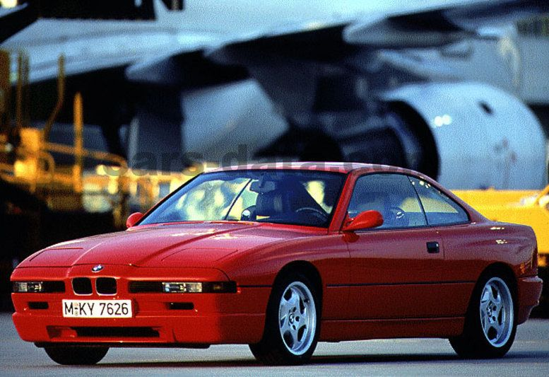 BMW 8-series 1989 pictures (1 of 10) | cars-data.com