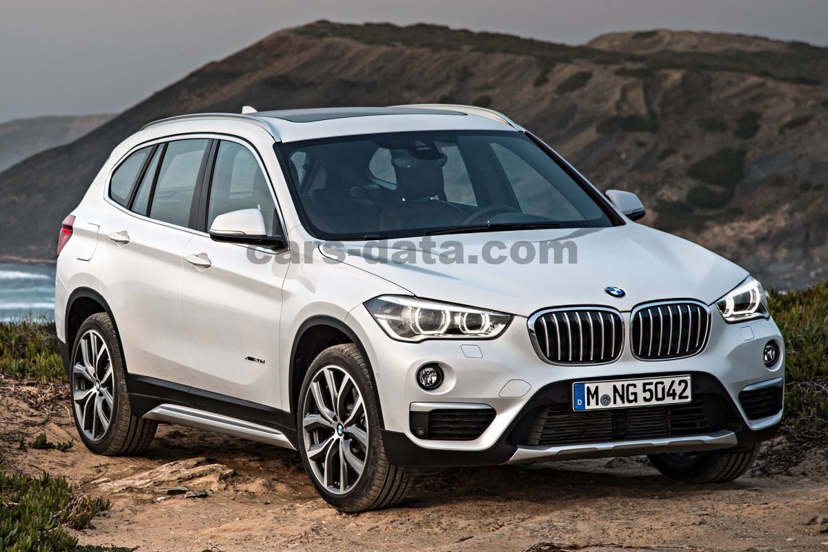 bmw x1 sdrive18i sequential automatic 2016 present 136 hp 5 doors technical specifications. Black Bedroom Furniture Sets. Home Design Ideas