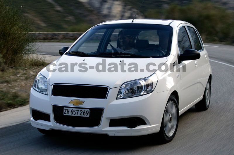 Chevrolet Aveo 2008 Pictures 14 Of 15 Cars Data