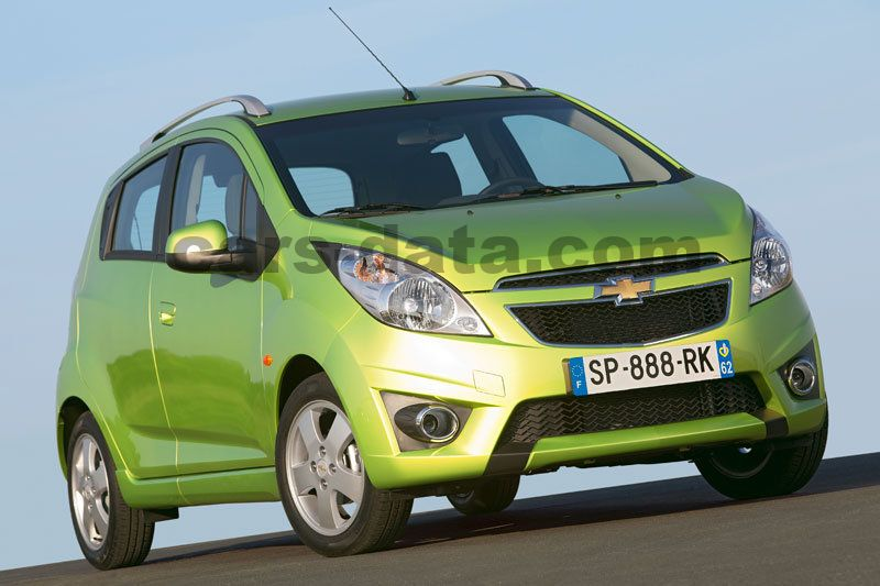 Chevrolet Spark 10 Ls Manual 5 Door Specs Cars Data