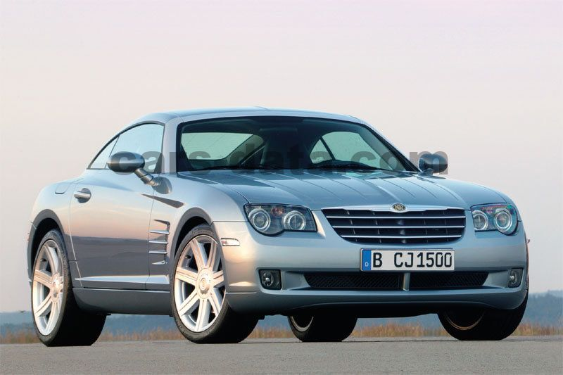 chrysler crossfire v6 manual 2005 2008 218 hp 2 doors technical specifications. Black Bedroom Furniture Sets. Home Design Ideas