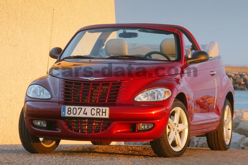 chrysler pt cruiser cabrio 2004 pictures 6 of 11 cars. Black Bedroom Furniture Sets. Home Design Ideas