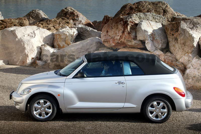chrysler pt cruiser cabrio 2004 pictures chrysler pt. Black Bedroom Furniture Sets. Home Design Ideas