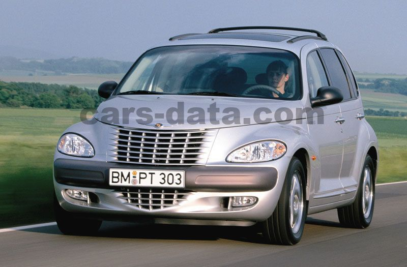chrysler pt cruiser 2 2 crd limited manual 2002 2006 121 hp 5 doors technical specifications. Black Bedroom Furniture Sets. Home Design Ideas
