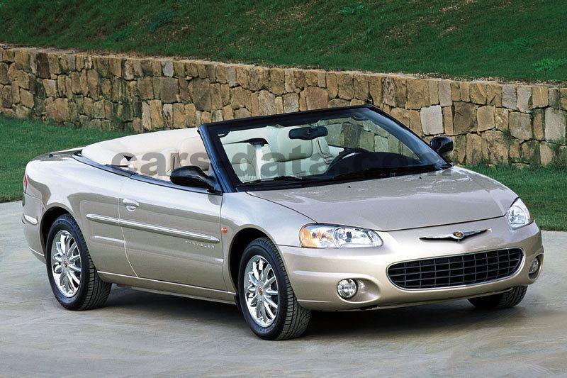 chrysler sebring cabrio 2001 pictures chrysler sebring cabrio 2001 images 1 of 7