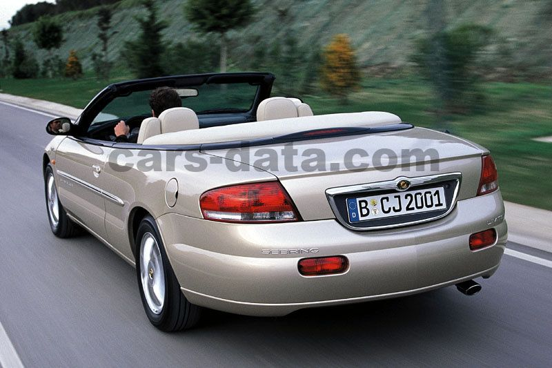 chrysler sebring cabrio 2001 pictures chrysler sebring cabrio 2001 images 4 of 7. Black Bedroom Furniture Sets. Home Design Ideas