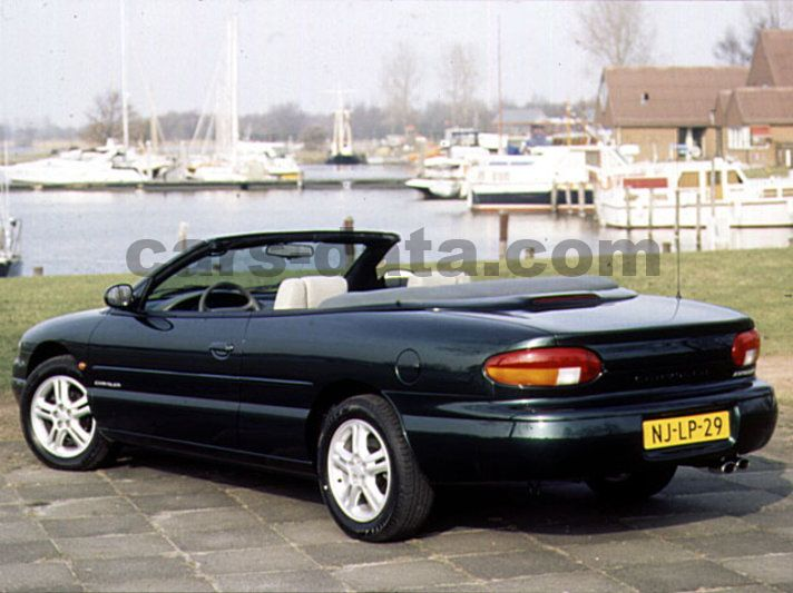chrysler stratus convertible 1996 pictures chrysler. Black Bedroom Furniture Sets. Home Design Ideas