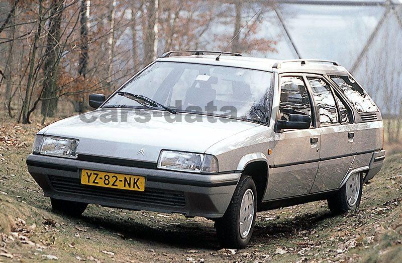citroen bx break 16 rs manual 5 door specs cars data com rh cars data com Citroen DS Citroen ZX