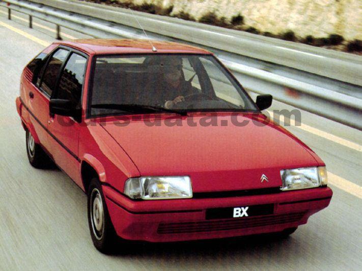 citroen bx 19 d manual 5 door specs cars data com rh cars data com Citroen BX Interior Citroen BX Interior