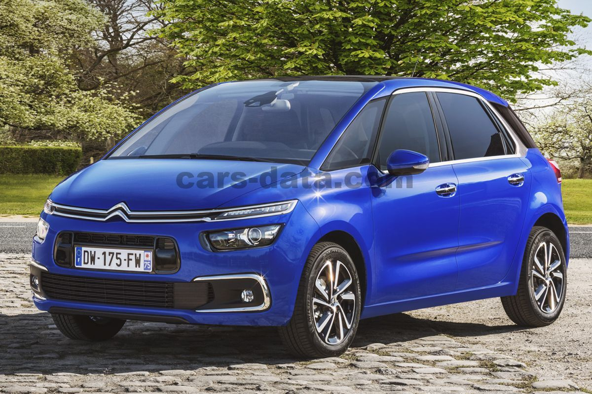 citroen c4 picasso 2016 pictures 14 of 20 cars. Black Bedroom Furniture Sets. Home Design Ideas