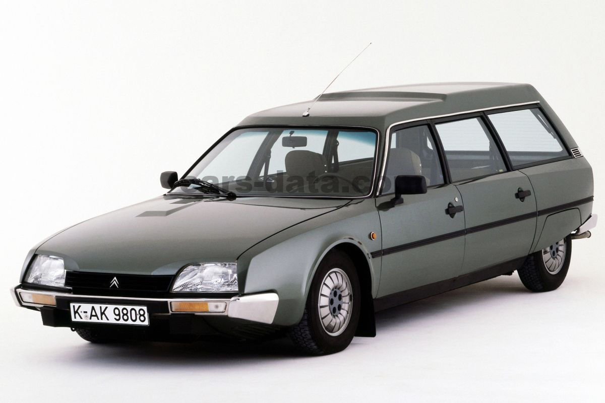 citroen cx familiale  manual  door specs cars datacom
