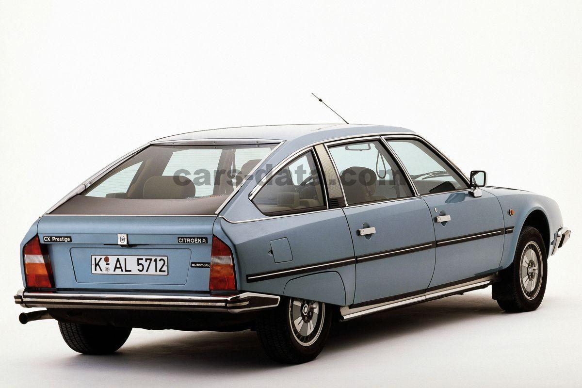 Citroen CX GTi Turbo 2 1988 - SPRZEDANY - Giełda klasyków