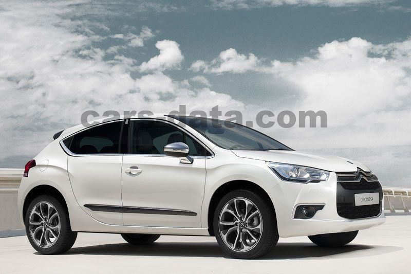 citroen ds4 thp 200 sport chic manual 2011 2015 200 hp 5 doors technical specifications. Black Bedroom Furniture Sets. Home Design Ideas