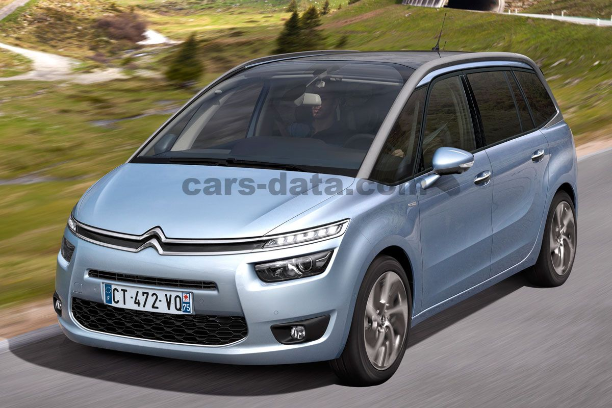 citroen grand c4 picasso 2013 pictures citroen grand c4 picasso 2013 images 1 of 24. Black Bedroom Furniture Sets. Home Design Ideas