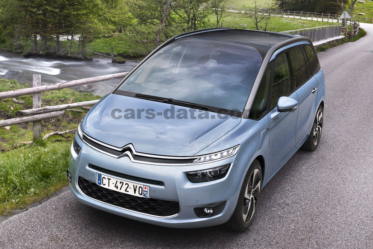 citroen grand c4 picasso 2013 pictures citroen grand c4 picasso 2013 images 3 of 24. Black Bedroom Furniture Sets. Home Design Ideas