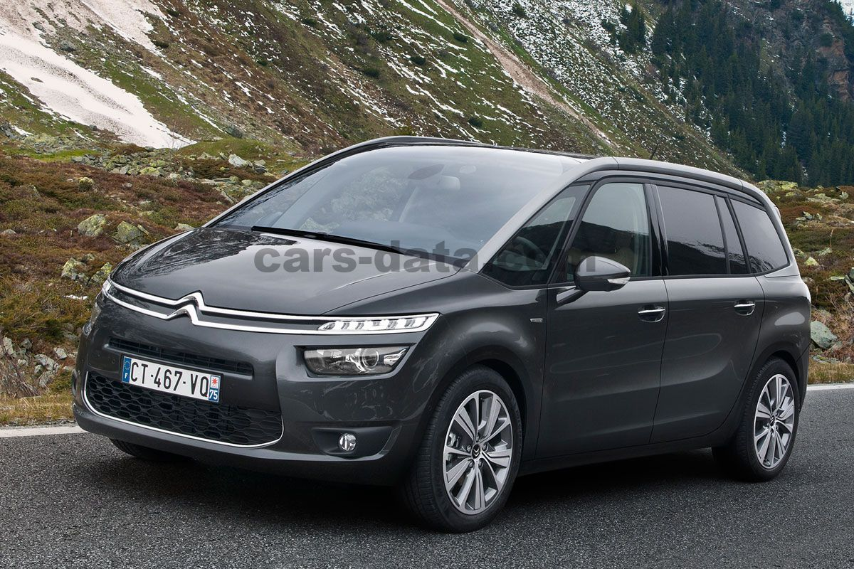 citroen grand c4 picasso 2013 pictures citroen grand c4 picasso 2013 images 6 of 24. Black Bedroom Furniture Sets. Home Design Ideas