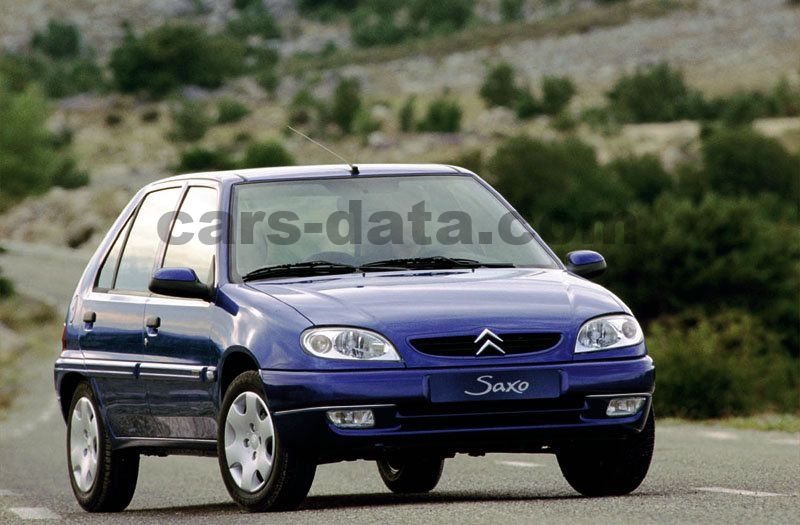 citroen saxo 1 5 d sx manual 1999 2002 58 hp 5 doors. Black Bedroom Furniture Sets. Home Design Ideas