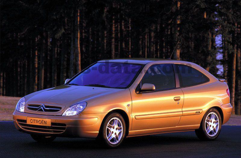 citroen xsara coupe 16v 167hp vts manual 2000 2002 167 hp 3 doors technical. Black Bedroom Furniture Sets. Home Design Ideas