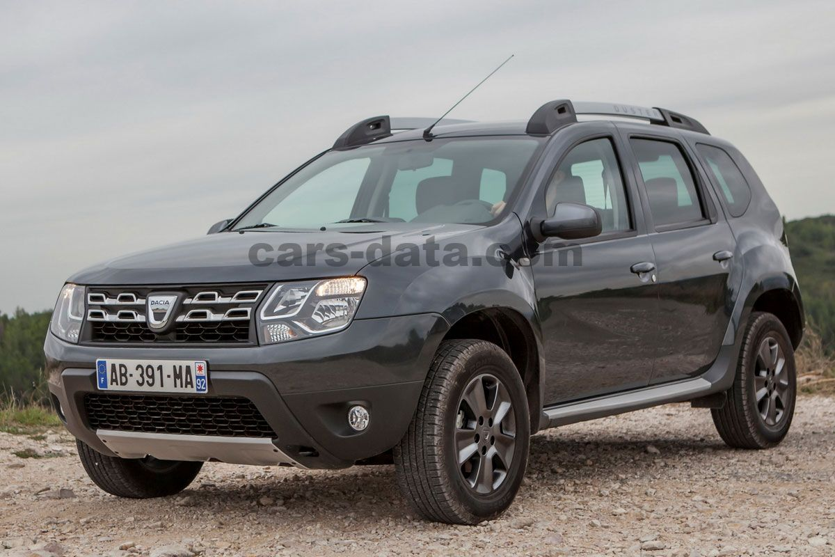 dacia duster dci 110 4x4 prestige manual 2015 present 109 hp 5 doors technical specifications. Black Bedroom Furniture Sets. Home Design Ideas