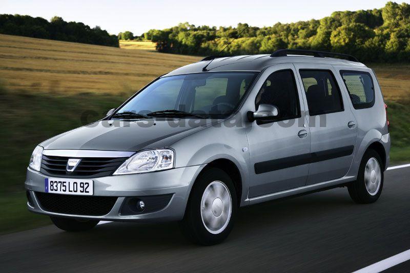dacia logan mcv 1 6 16v laureate manual 5 door specs cars data com rh cars data com Renault Logan 2014 Dacia Logan 2013
