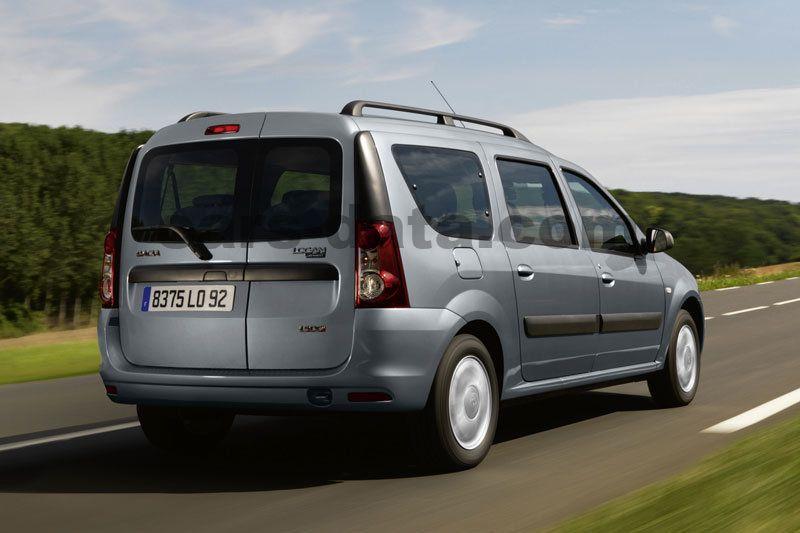 Dacia Logan Mcv 2008 Pictures  14 Of 15