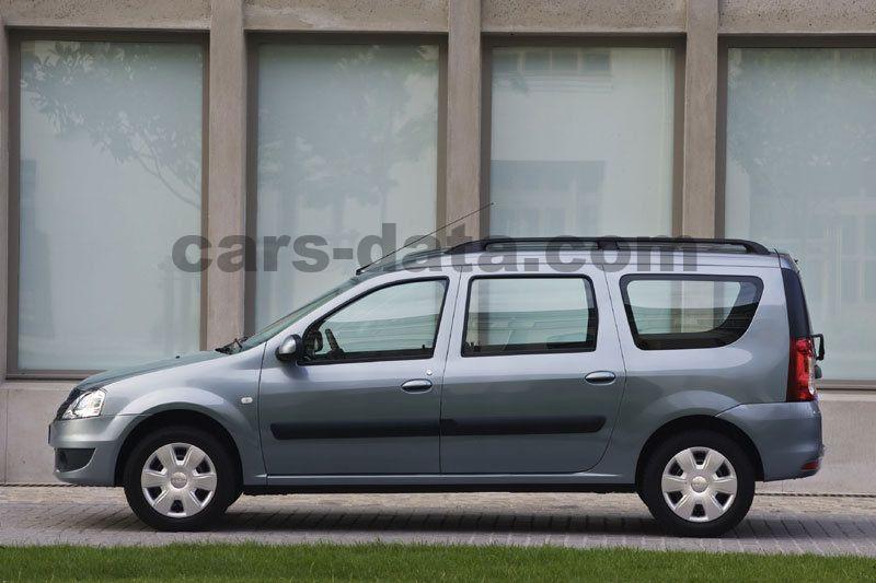 Dacia Logan Mcv 2008 Pictures  15 Of 15